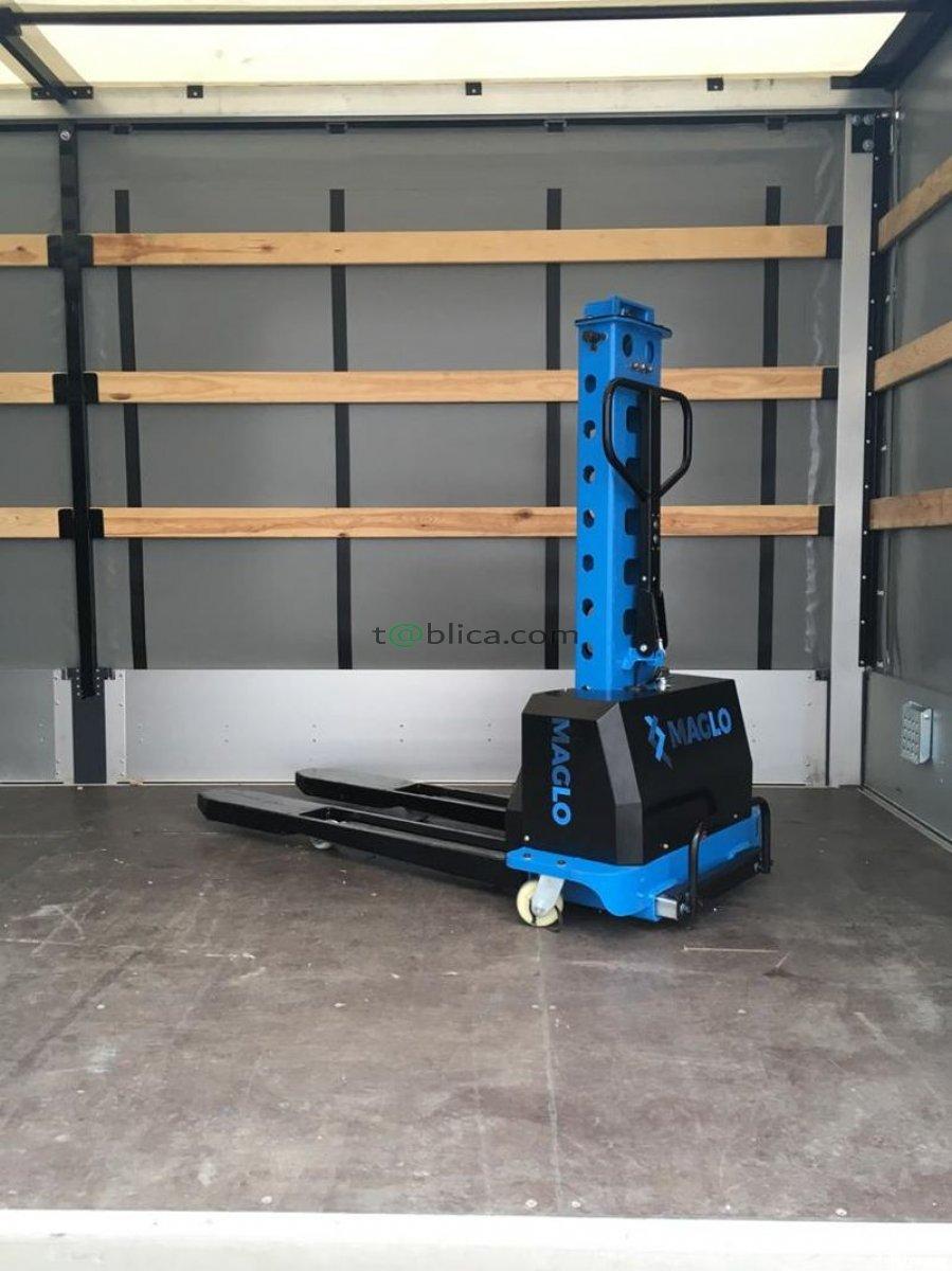 Wózek samozaładowczy Maglo 0,5 T zamiast windy na busa