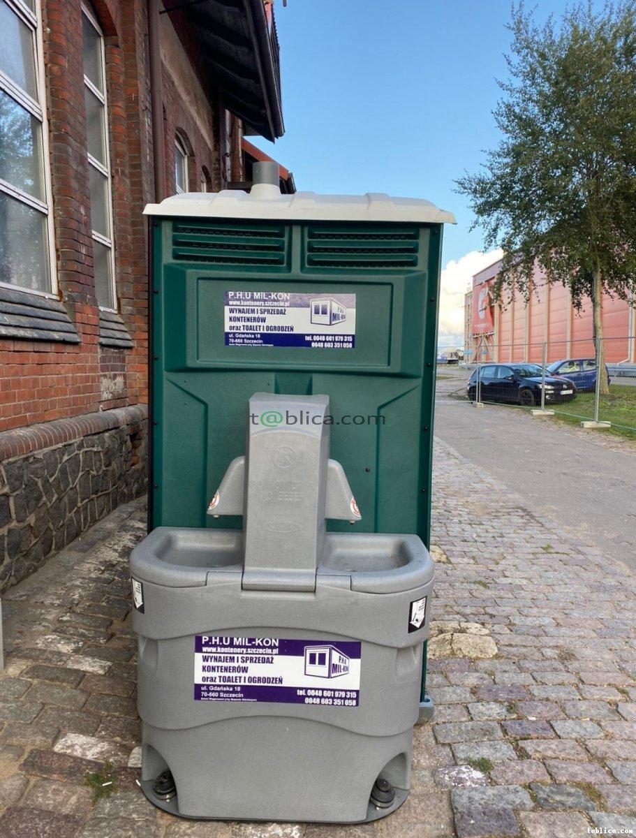 Wynajem toalet przenośnych Szczecin PHU MIL-KON nr 1