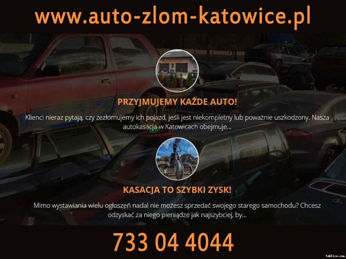 AUTO ZŁOM Katowice, kasacja złomowanie aut