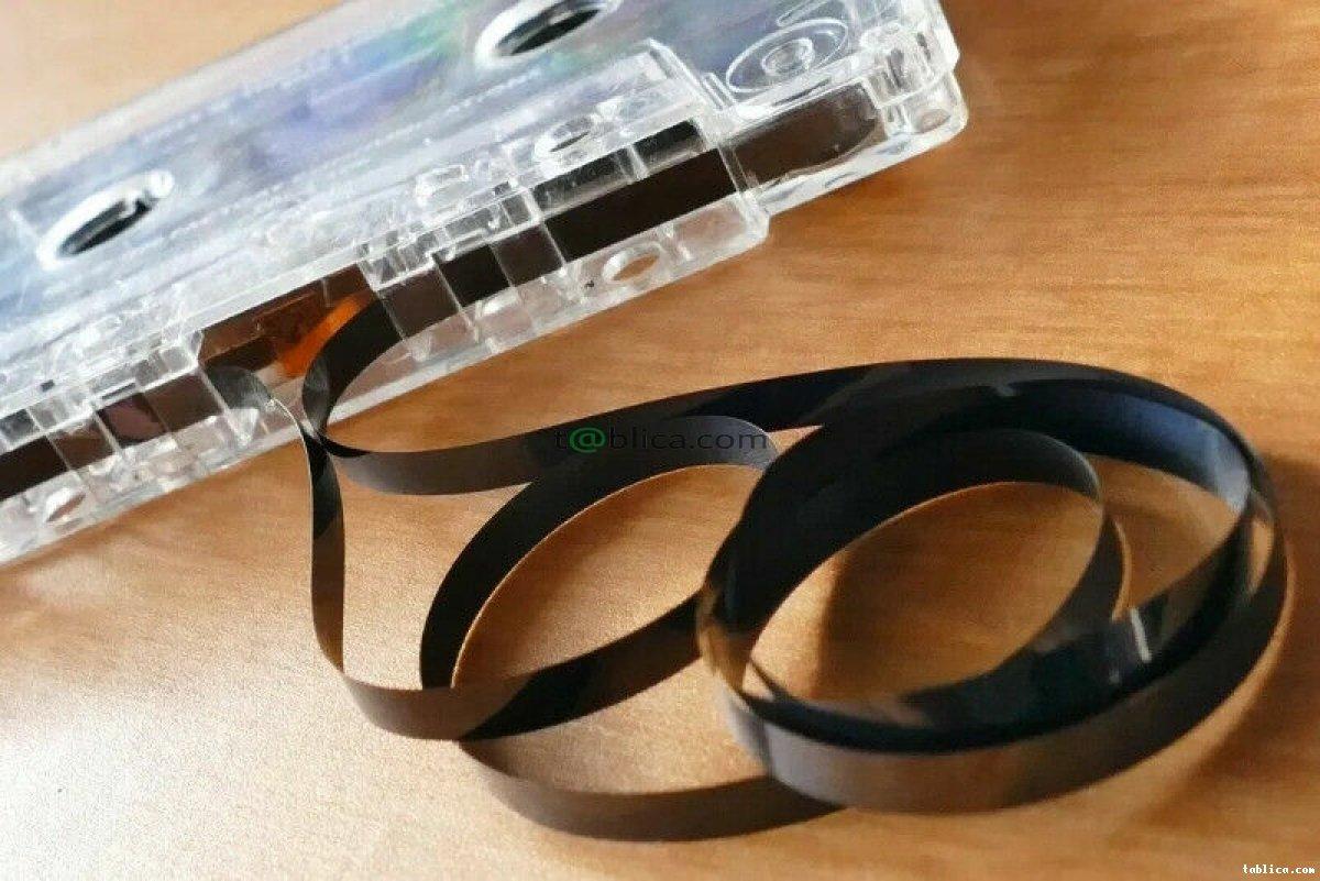 Przegrywanie kopiowanie kaset VHS VHS-C Video8 Hi8 +++
