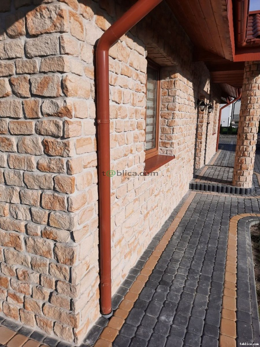 Kamień płytki elewacyjne dekoracyjny ozdobne łupek