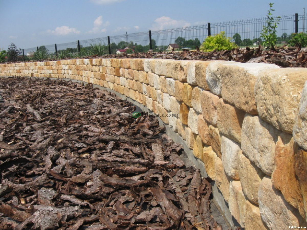 Kamień dekoracyjny ozdobny na murki ogrodowe