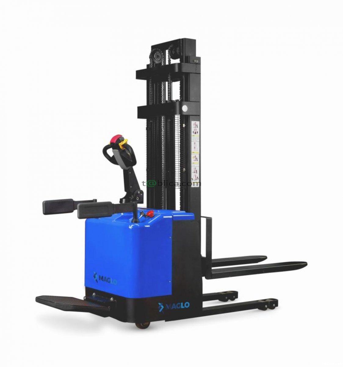 Wózek podnośnikowy z podestem dla operatora Maglo