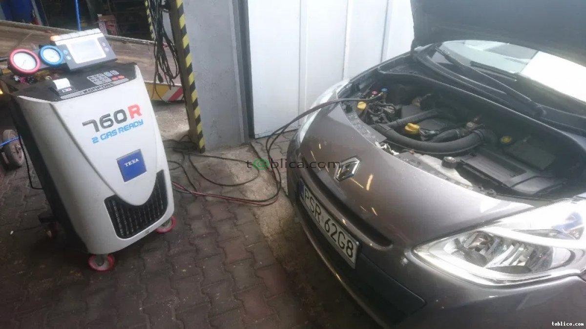 Odgrzybianie klimatyzacji samochodowej Poznań