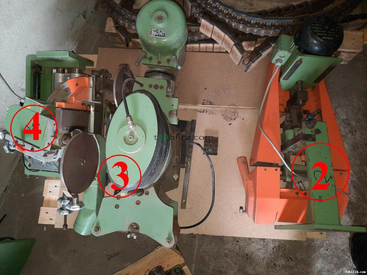 Okleiniarka IMA - części z rozbiórki