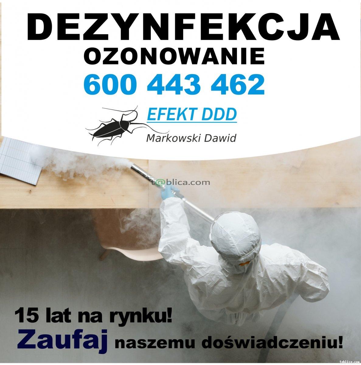 ozonowanie - dezynfekcja - odkażanie - deodoryzacja