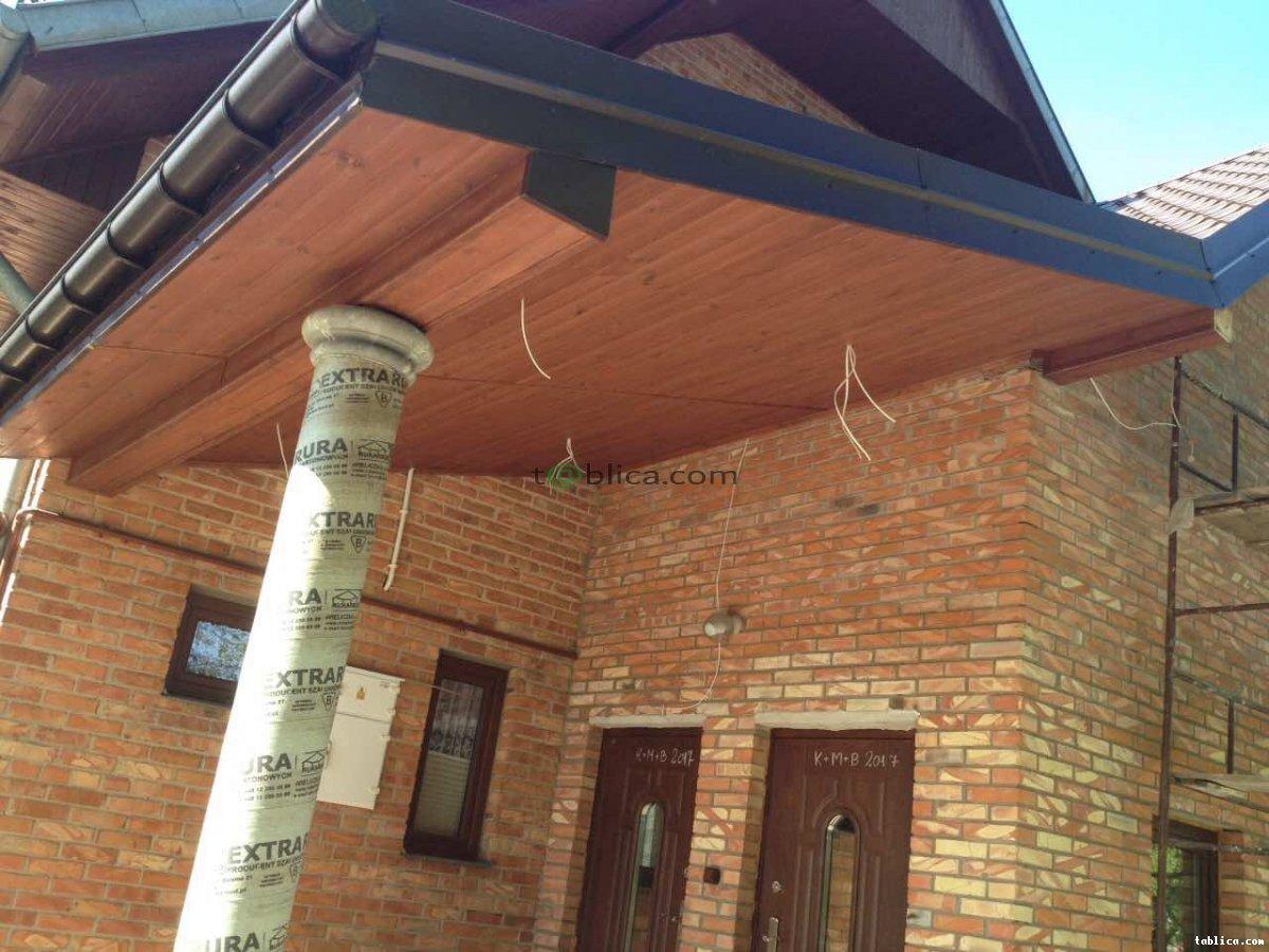 Podbitka dachowa Montaż podbitki dachowej Mazowsze