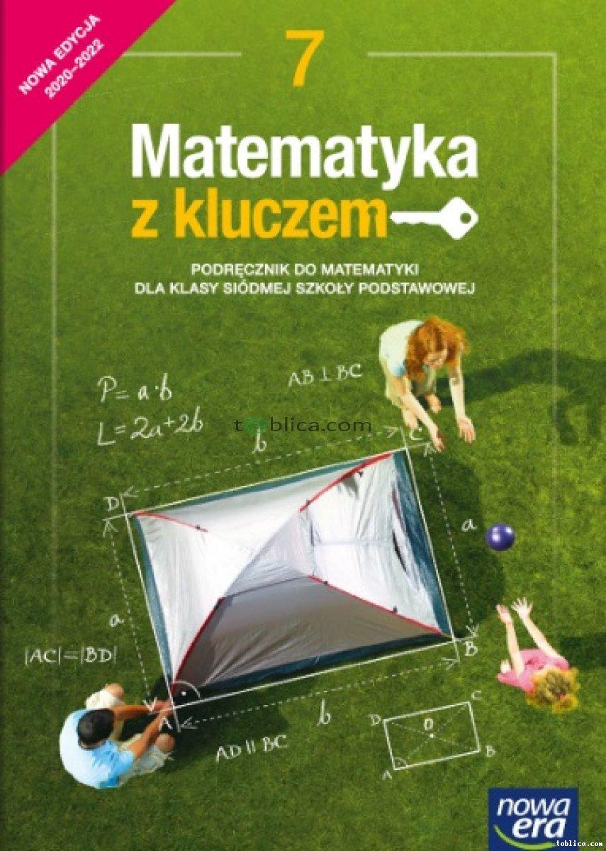 Matematyka z kluczem klasa 6, 7 Książka nauczyciela