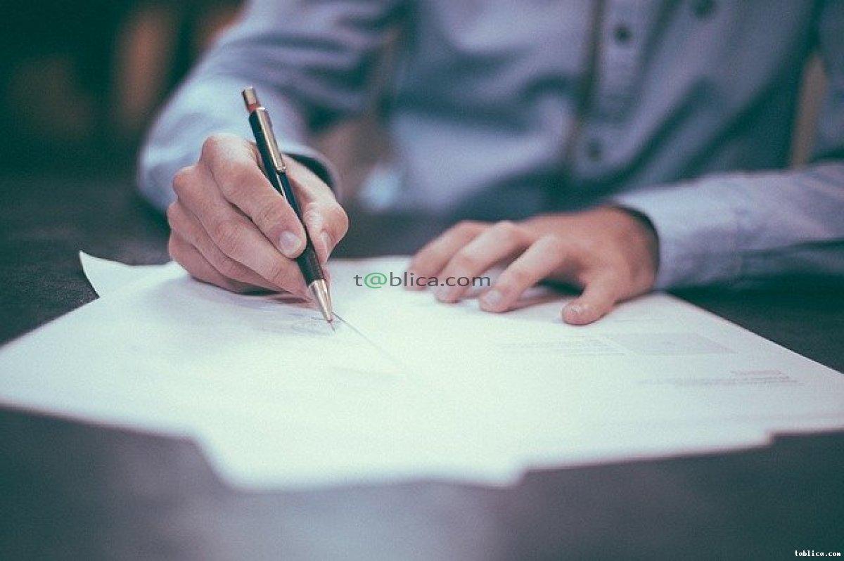 Napiszemy pisma prawne