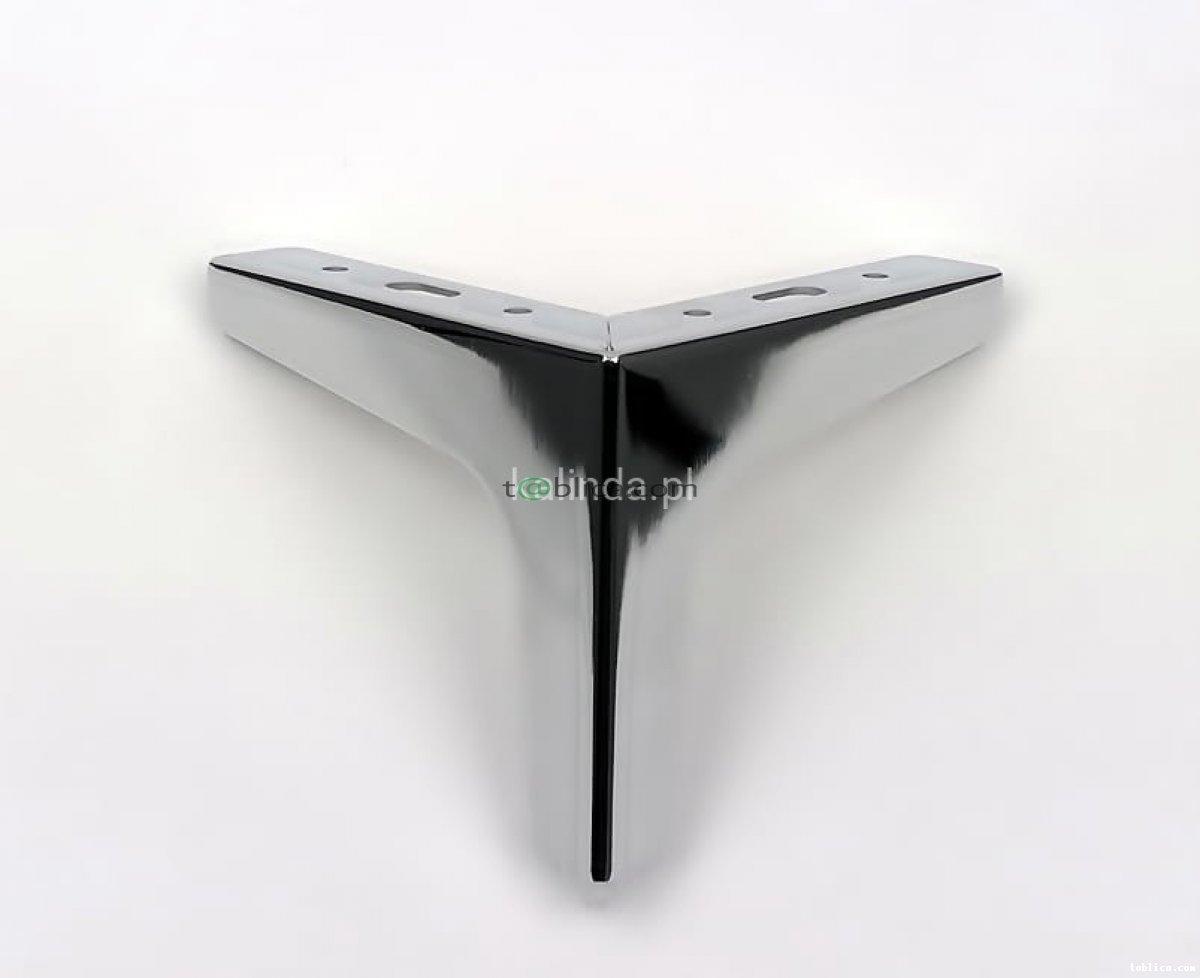 Noga do mebli, metalowa, h-12