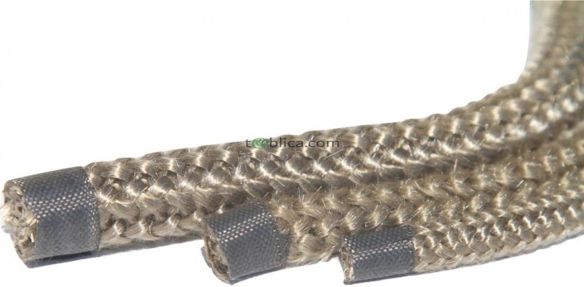 ZESTAW NAPRAWCZY SZNUR BAZALTOWY - 700°C 8mm