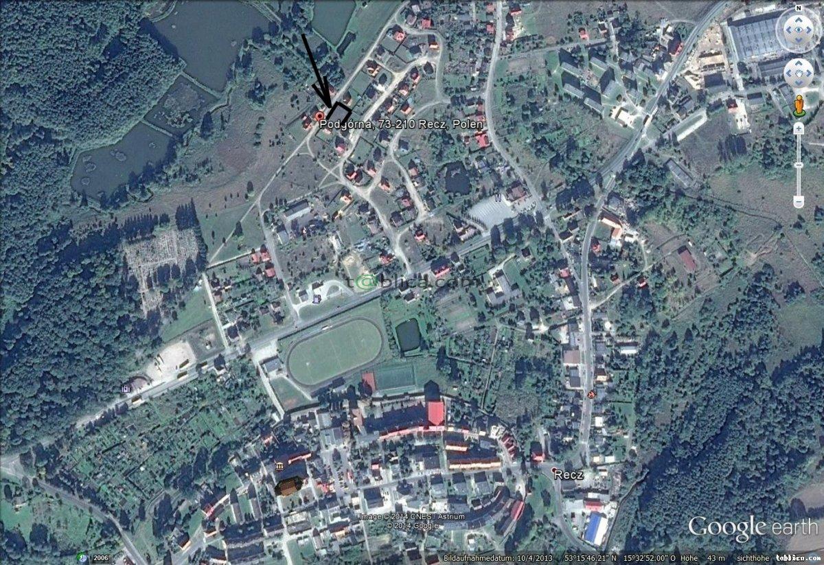 RECZ , ul.Podgórna  / 924 m2/(woda, prąd, gaz, kanal.)