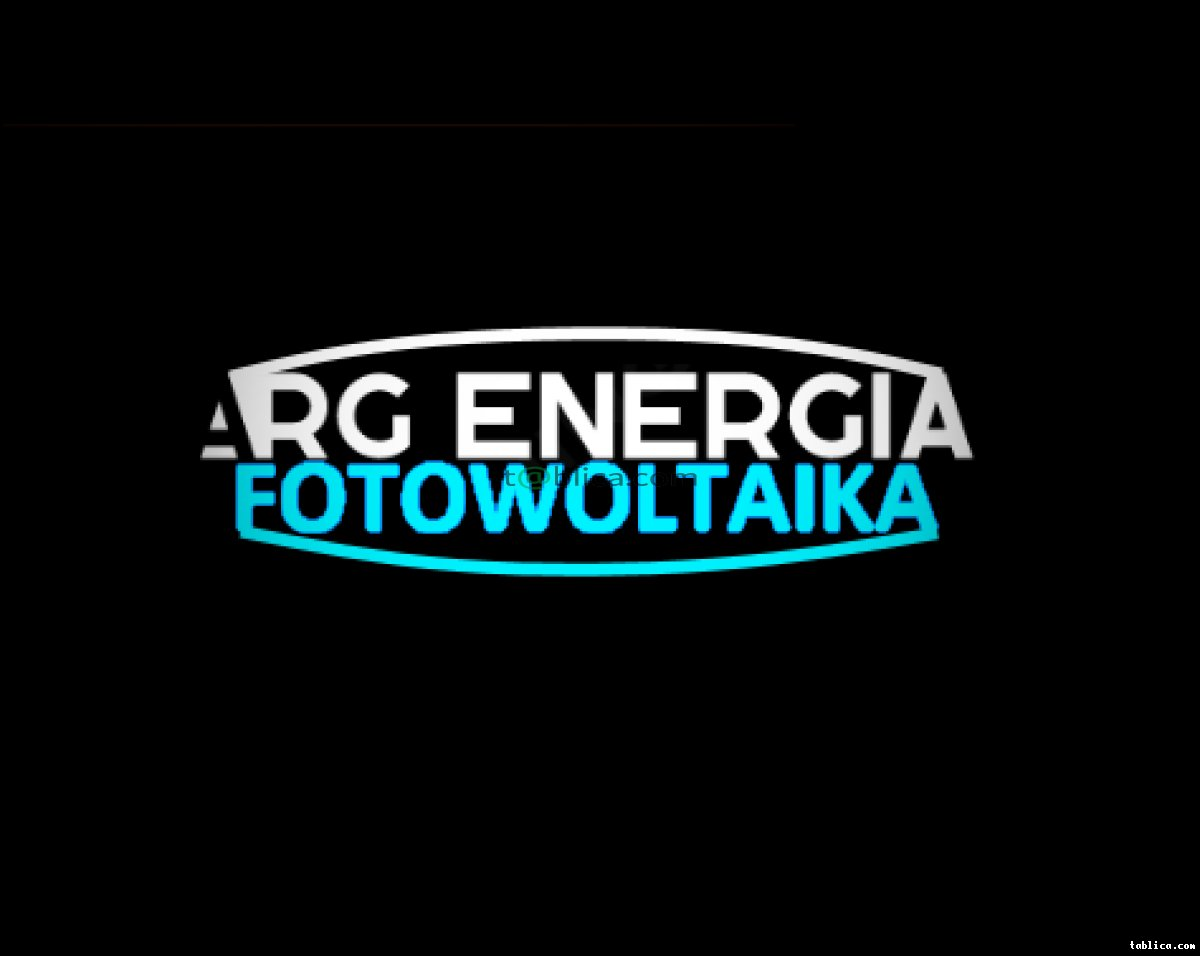 ARG Energia - Fotowoltaika