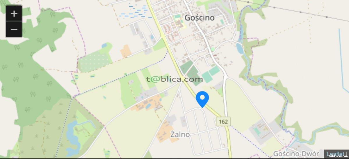Działka-Budowlana 875/49 w m.Goscino 15km do Kołobrzeg