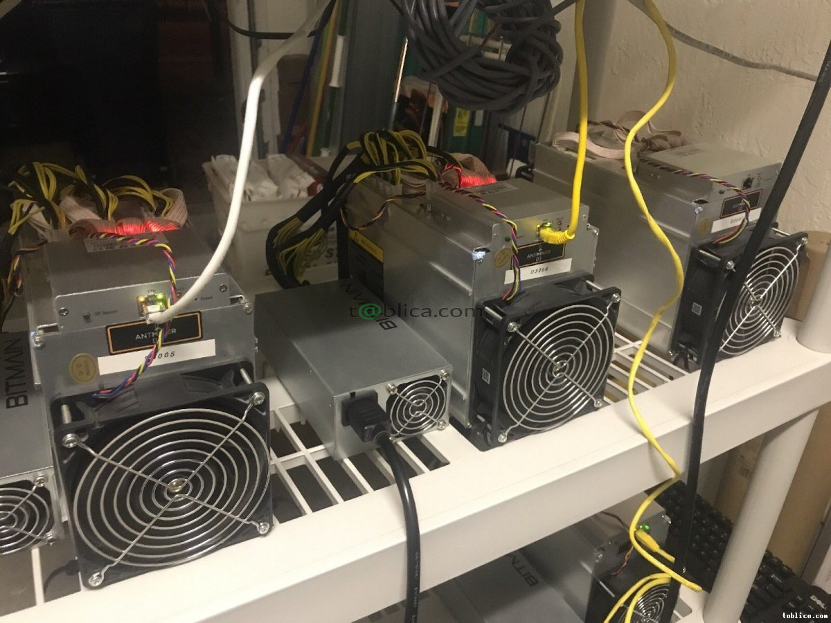 Antminer S9 14TH + Supply Unit, Antminer D3, L3
