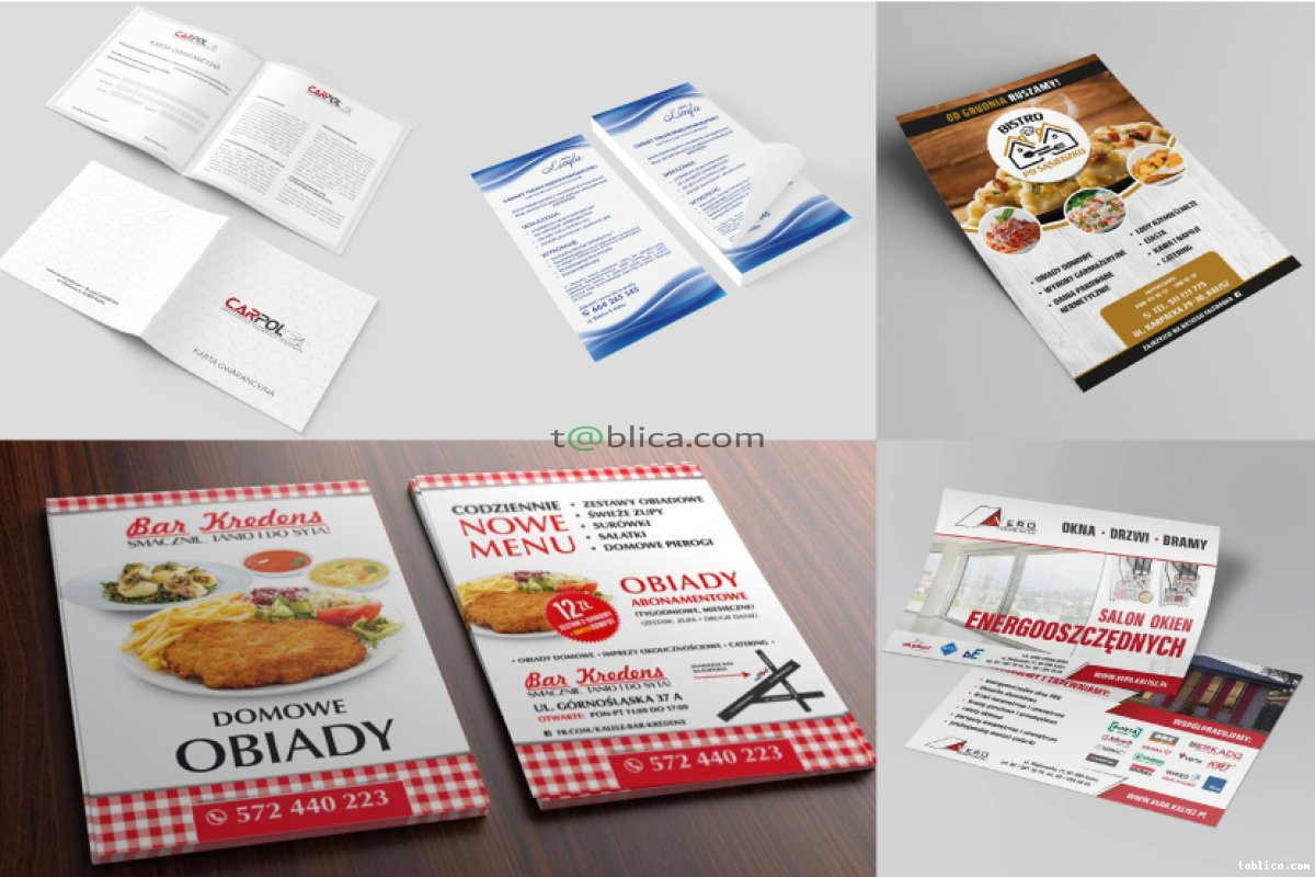 Logotyp-Wizytówki-Strony www-Banery/Agencja reklamowa