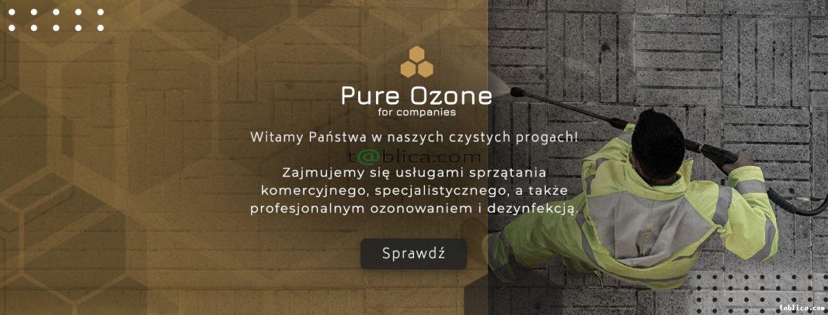 Profesjonalne sprzątanie i dezynfekcja Ozonem