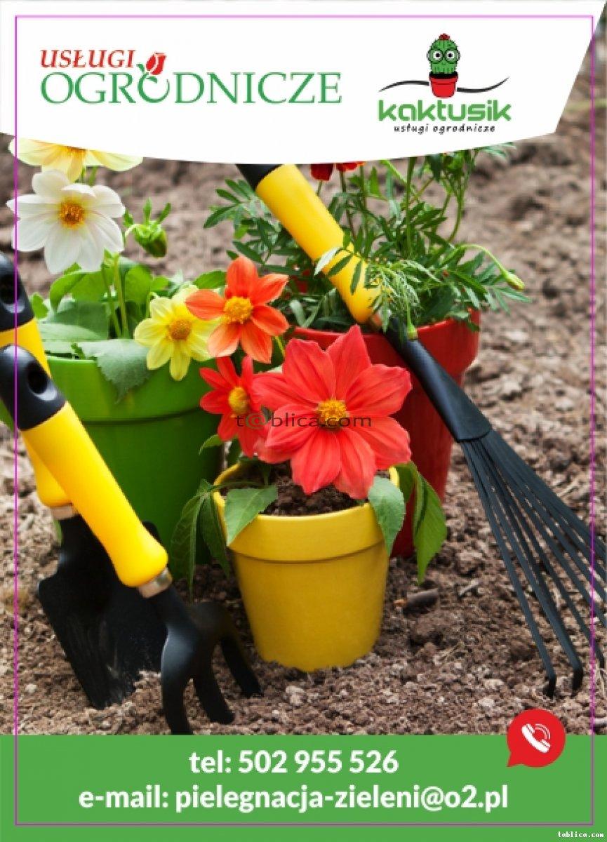 Usługi Ogrodnicze-pielęgnacja ogroduSprzatanie działek