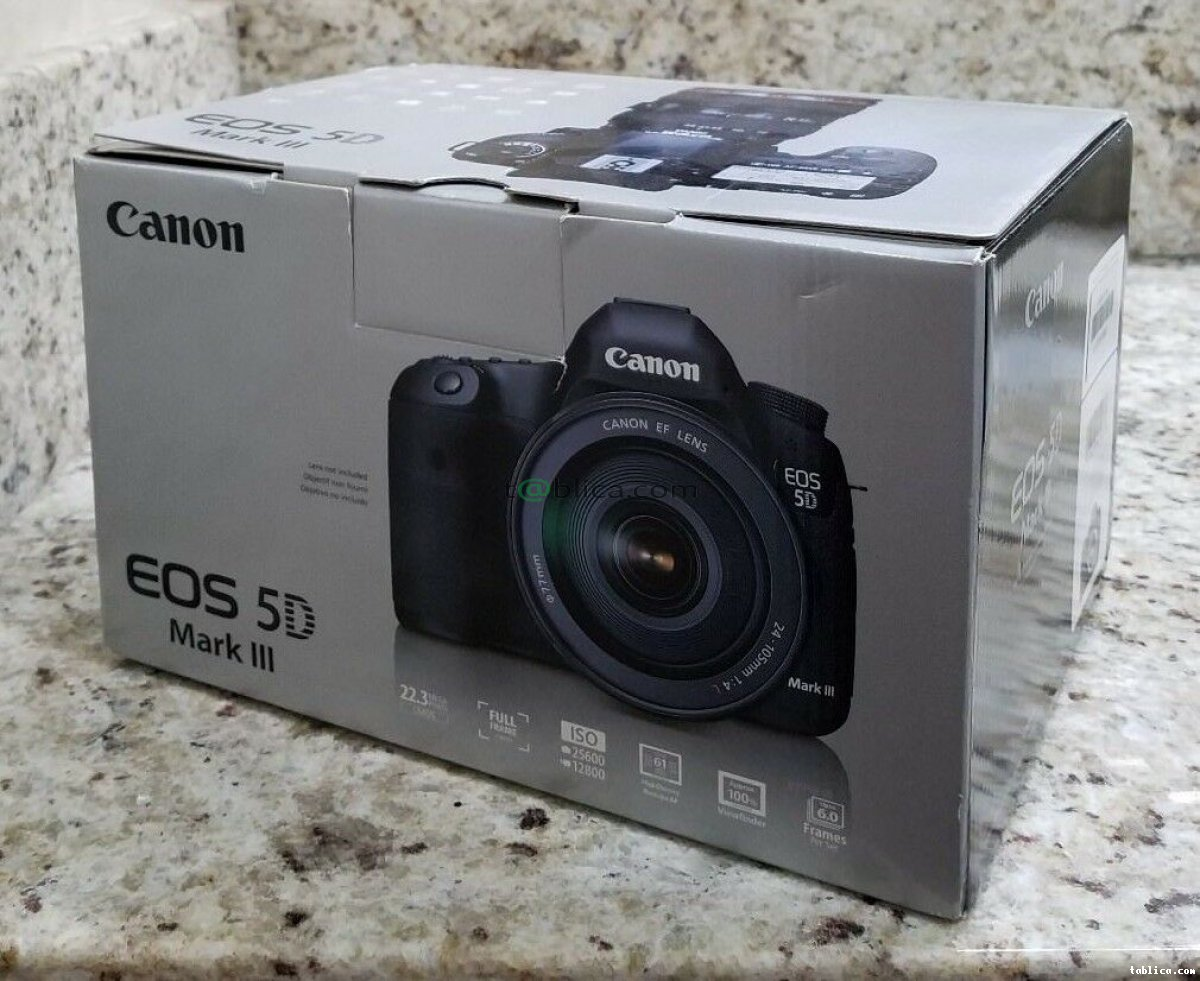 Canon EOS 5D Mark III Strap, BL-5DIII, Battery Charge