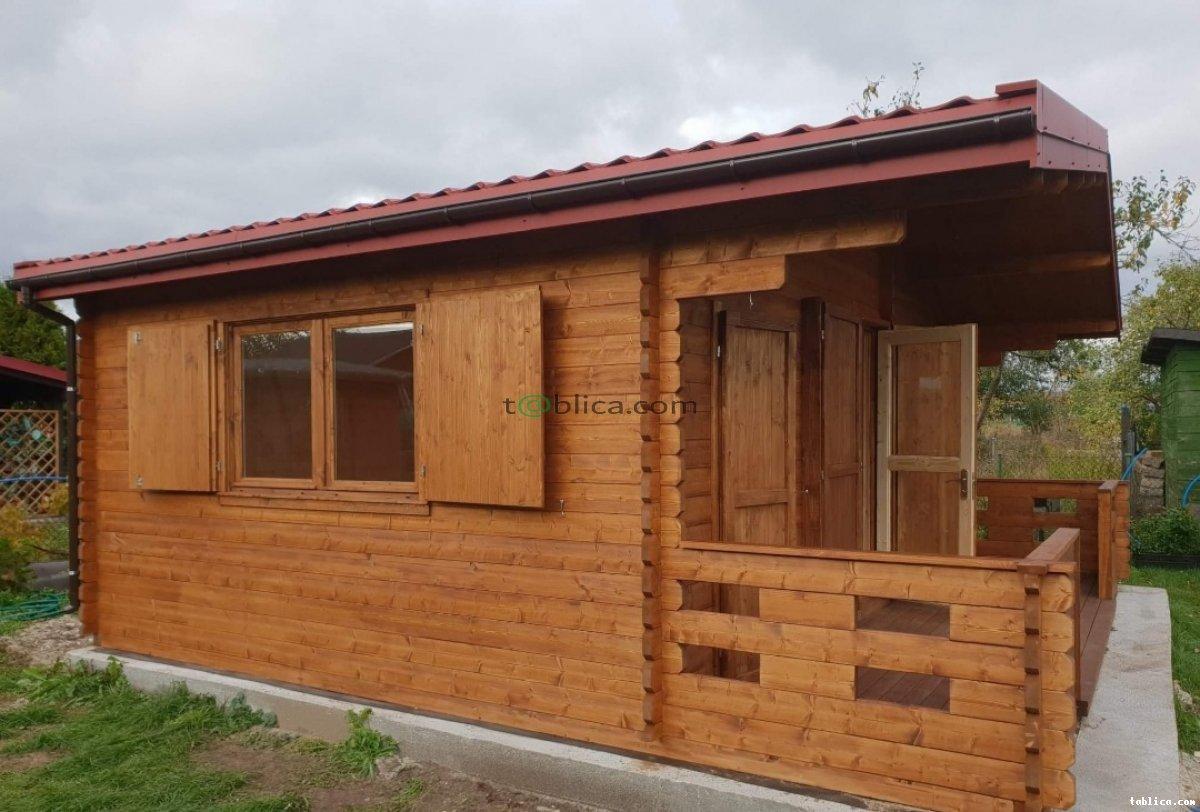 Wykonam na zamowienie dom drewniany lub inna lekka kon