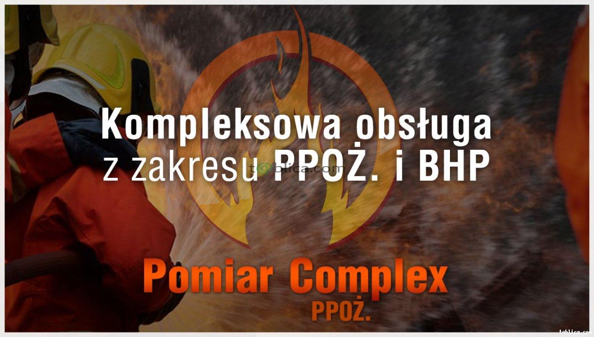 Kompleksowe usługi przeciwpożarowych i BHP.