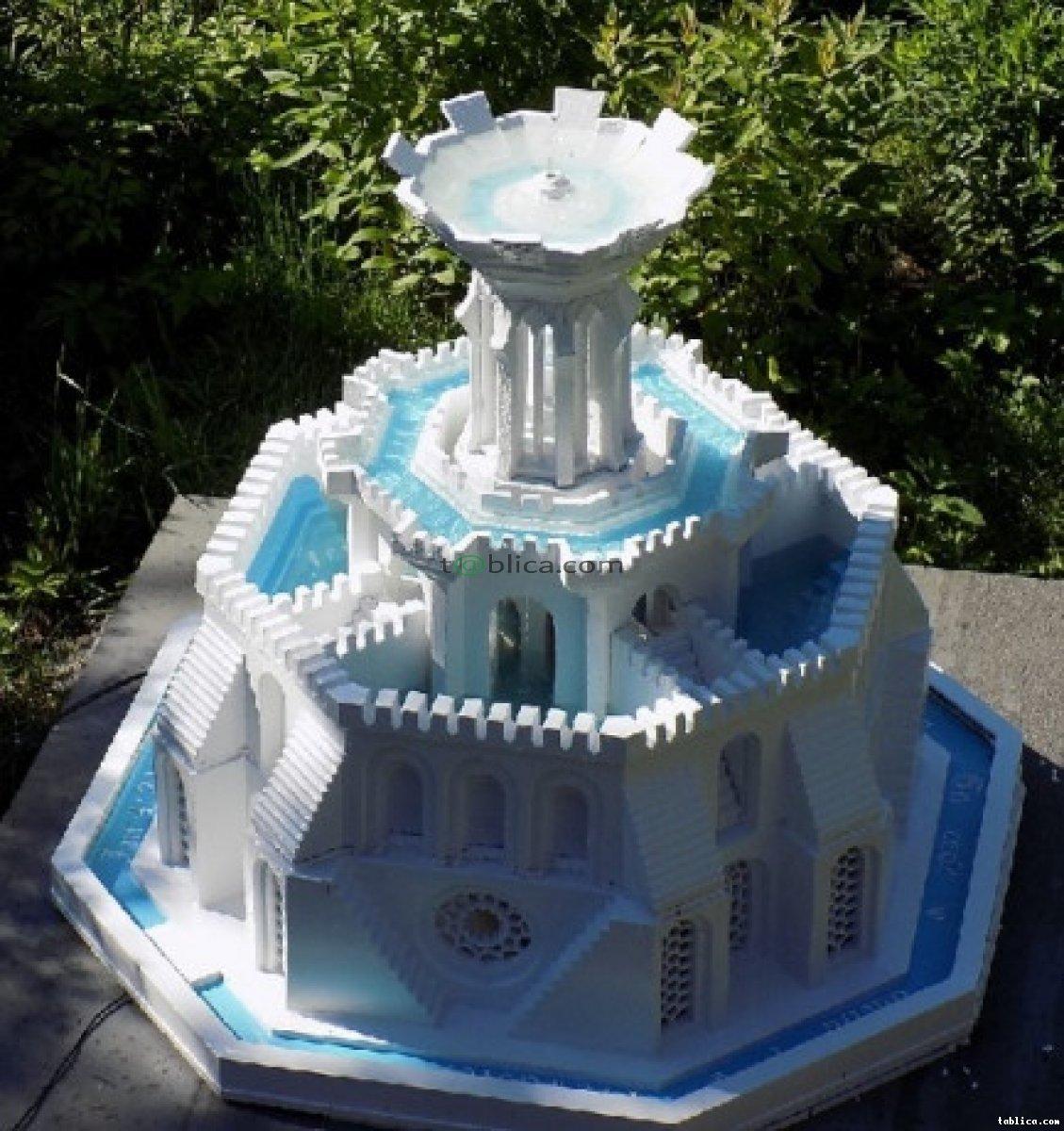 Za darmo - nowa technika budowy form 3d - fontanny.