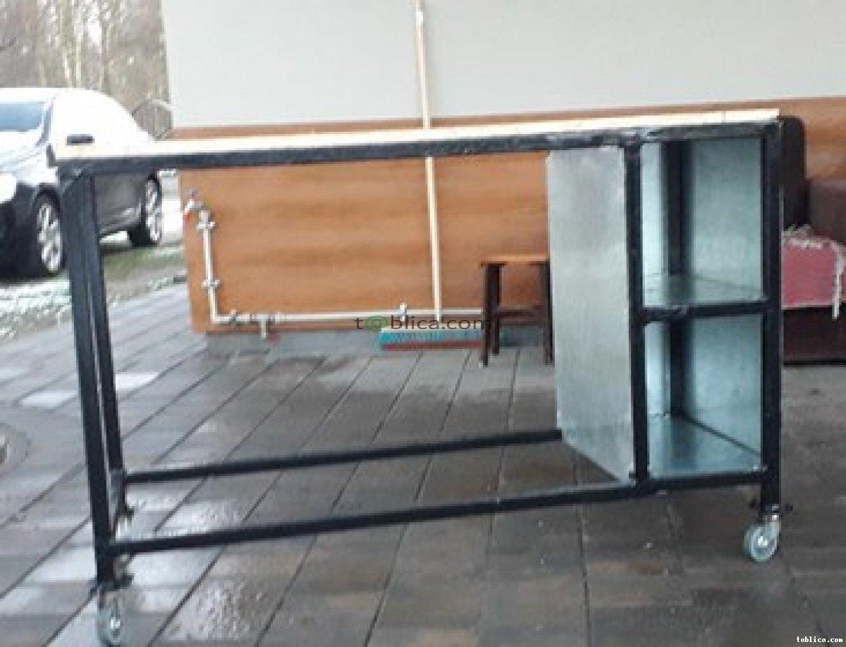 mobilny stół warsztatowy