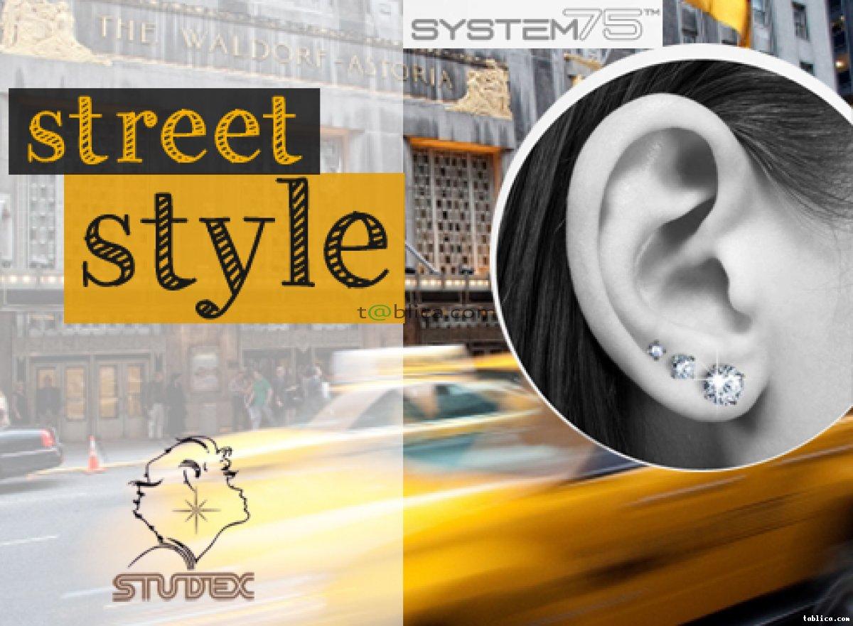 Przekłuwanie uszu/nosa systemem Studex 75