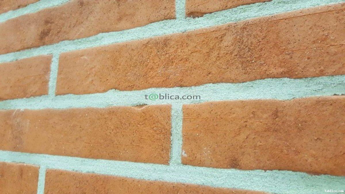Płytka na ścianę długa ceramiczna SPRUHKORN struktura
