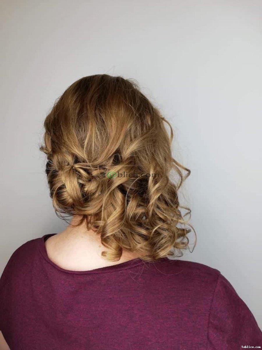 Usługi fryzjersko-kosmetyczne na komunię