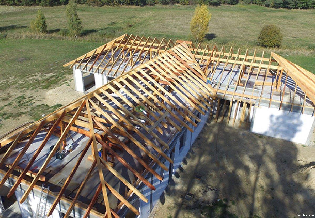 Prefabrykowane konstrukcje drewniane