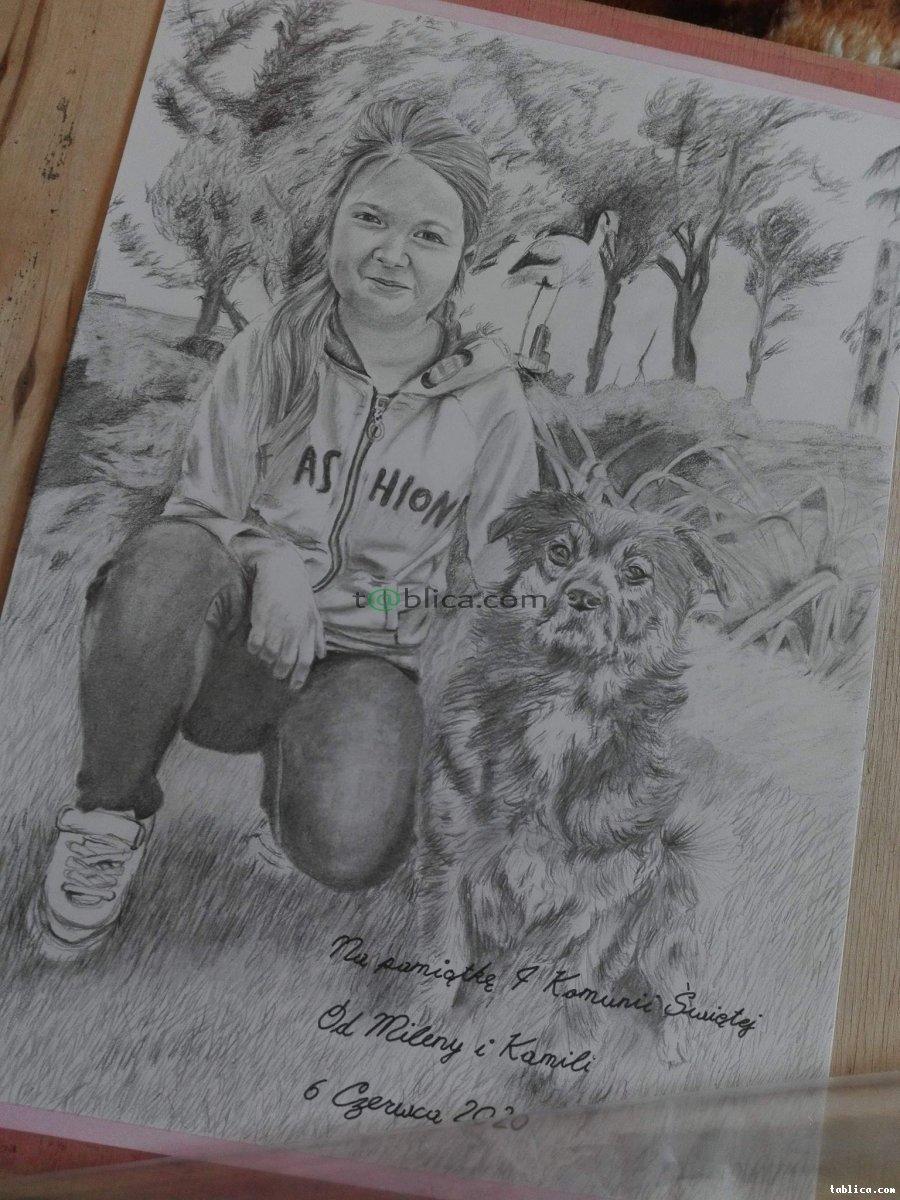Portret ze zdjęcia