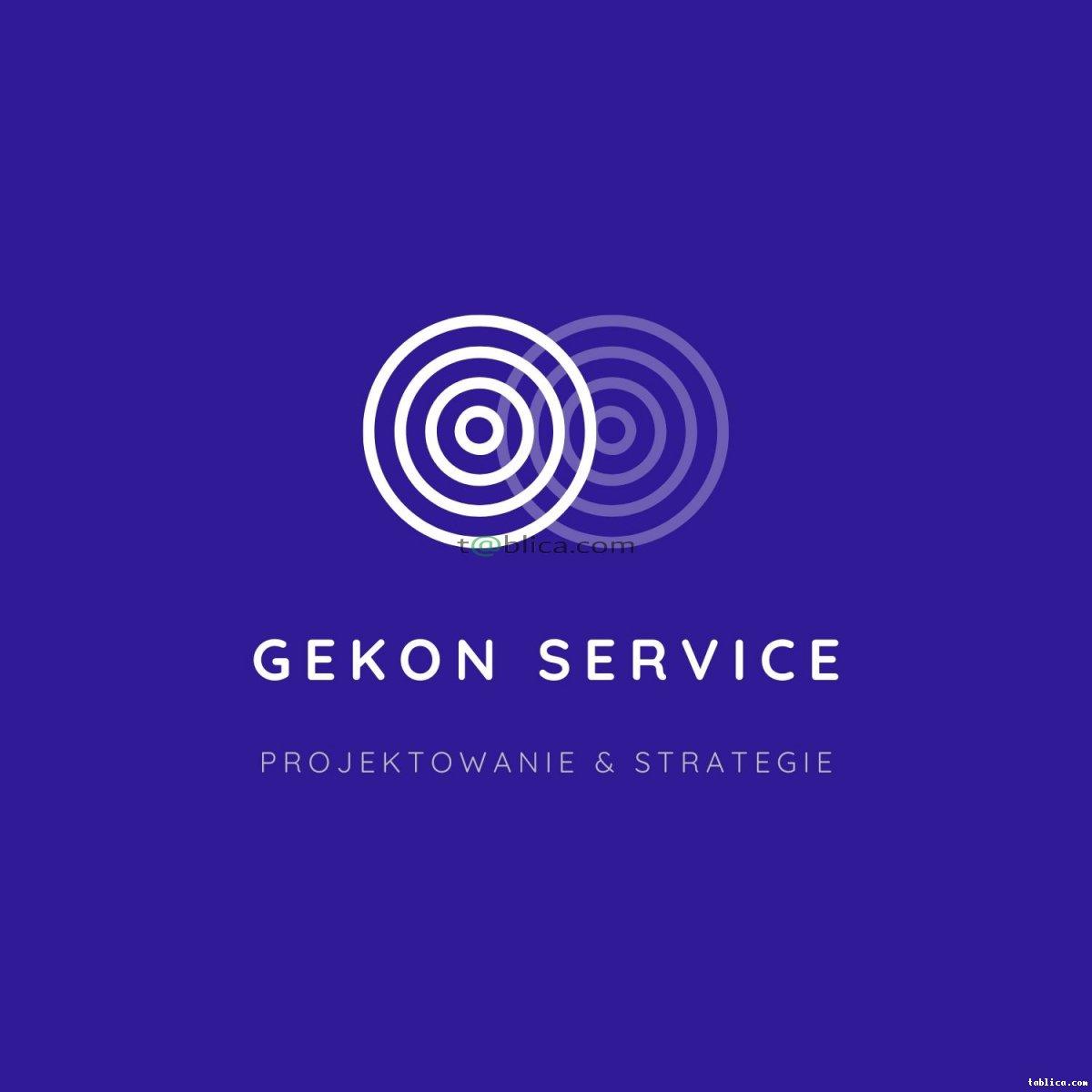 Logo dla twojej firmy - Gekon Service