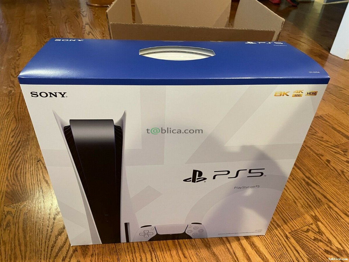 Sony PlayStation 5 (PS5) Disc Edition Console - White