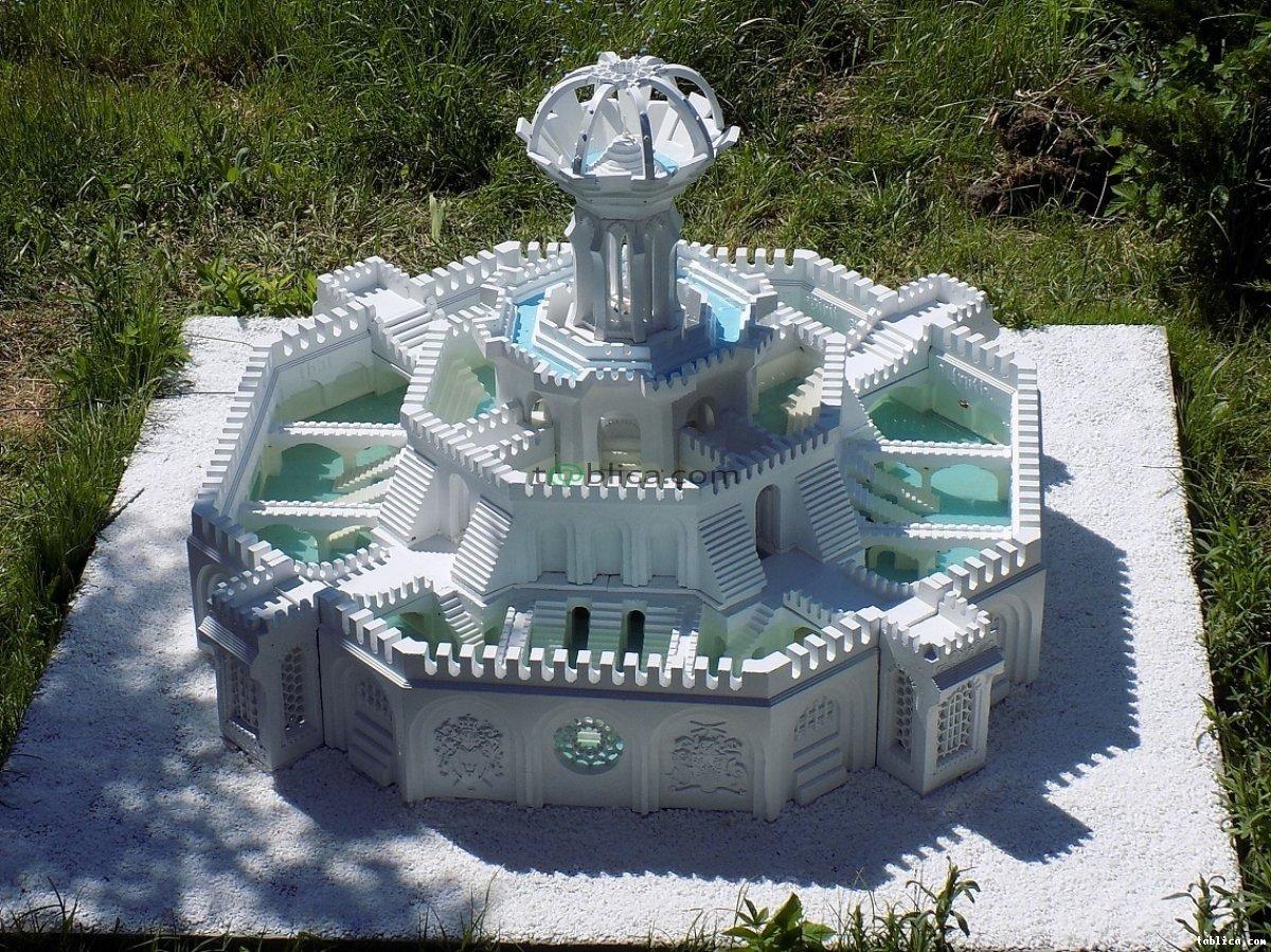Za darmo - nowa technika budowy form 3d - fontanny...