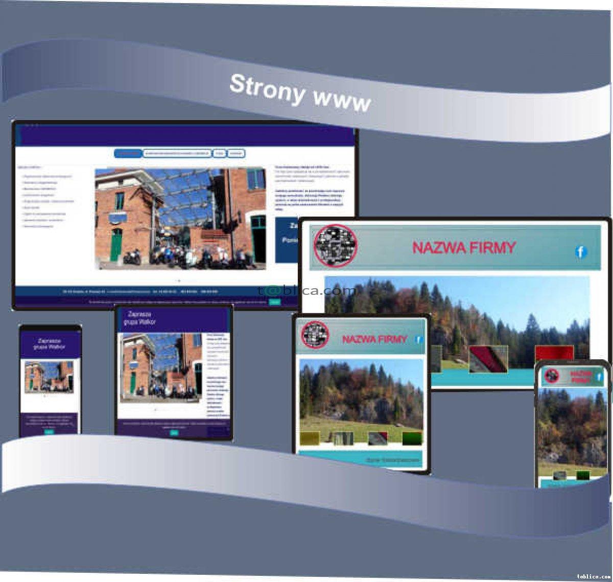 strony internetowe, kompleksowa obsługa reklamowa firm