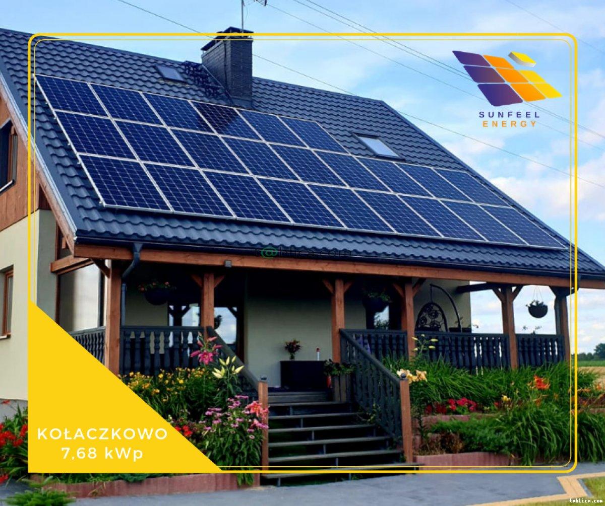 SUNFEEL ENERGY Fotowoltaika dla domu | firmy