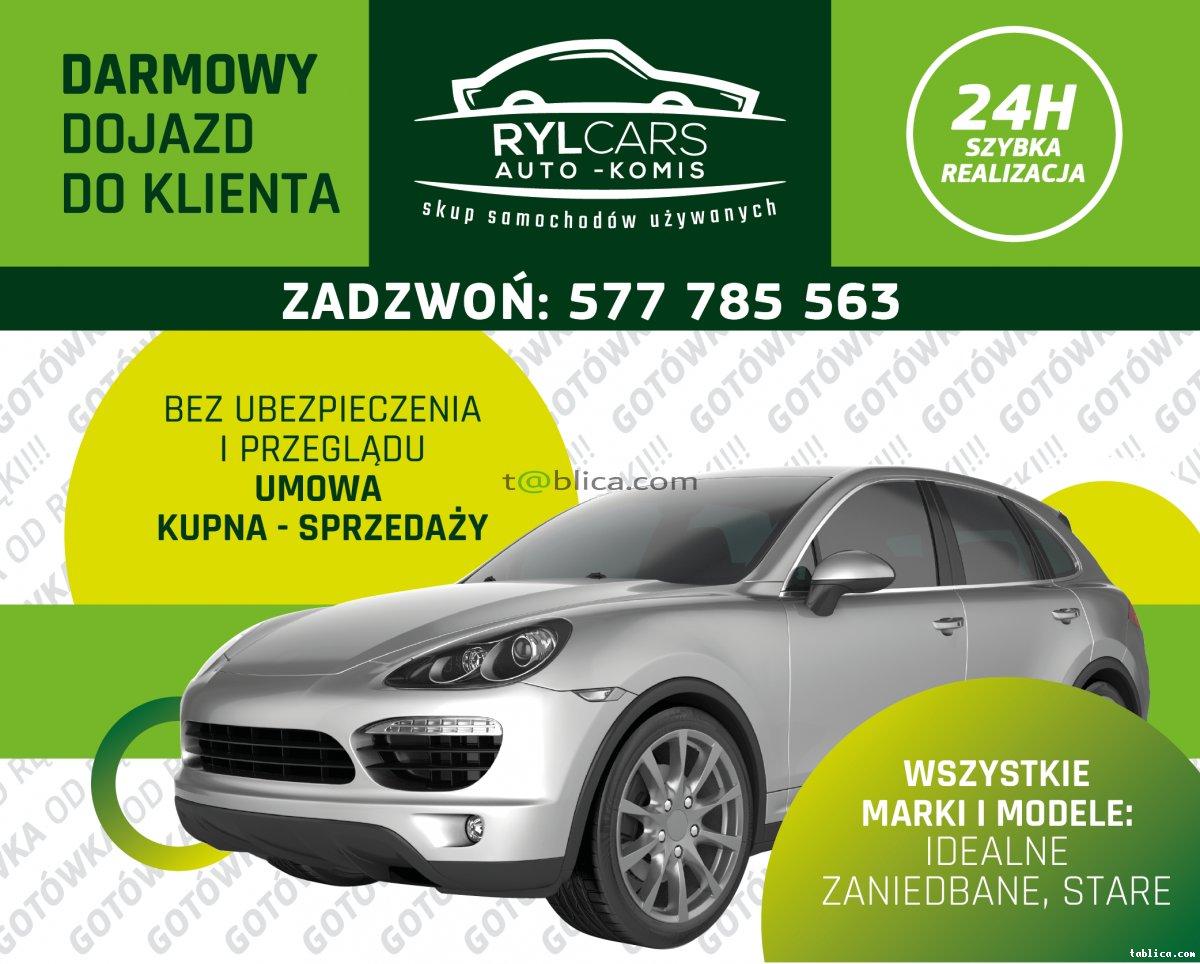 Skup Samochodów Skup Aut każdy stan i marka Cały Śląsk