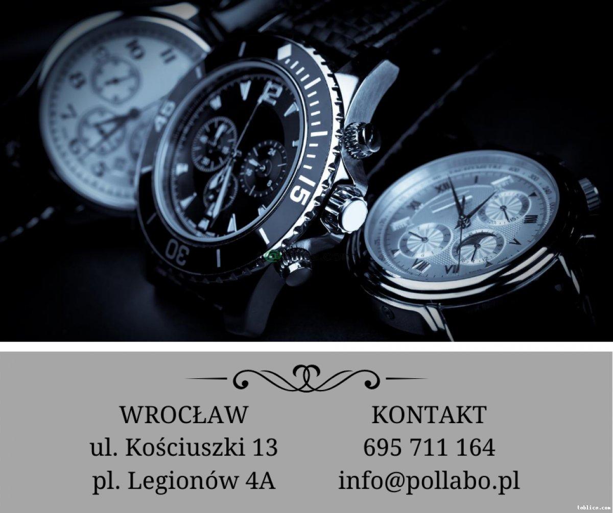 Czyszczenie i naprawa biżuterii, zegarków i zegarów