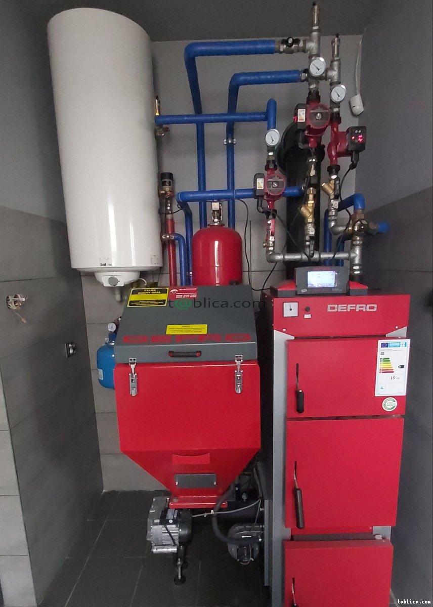 Usługi hydrauliczne KOTŁY PIECE ogrzewanie centralne