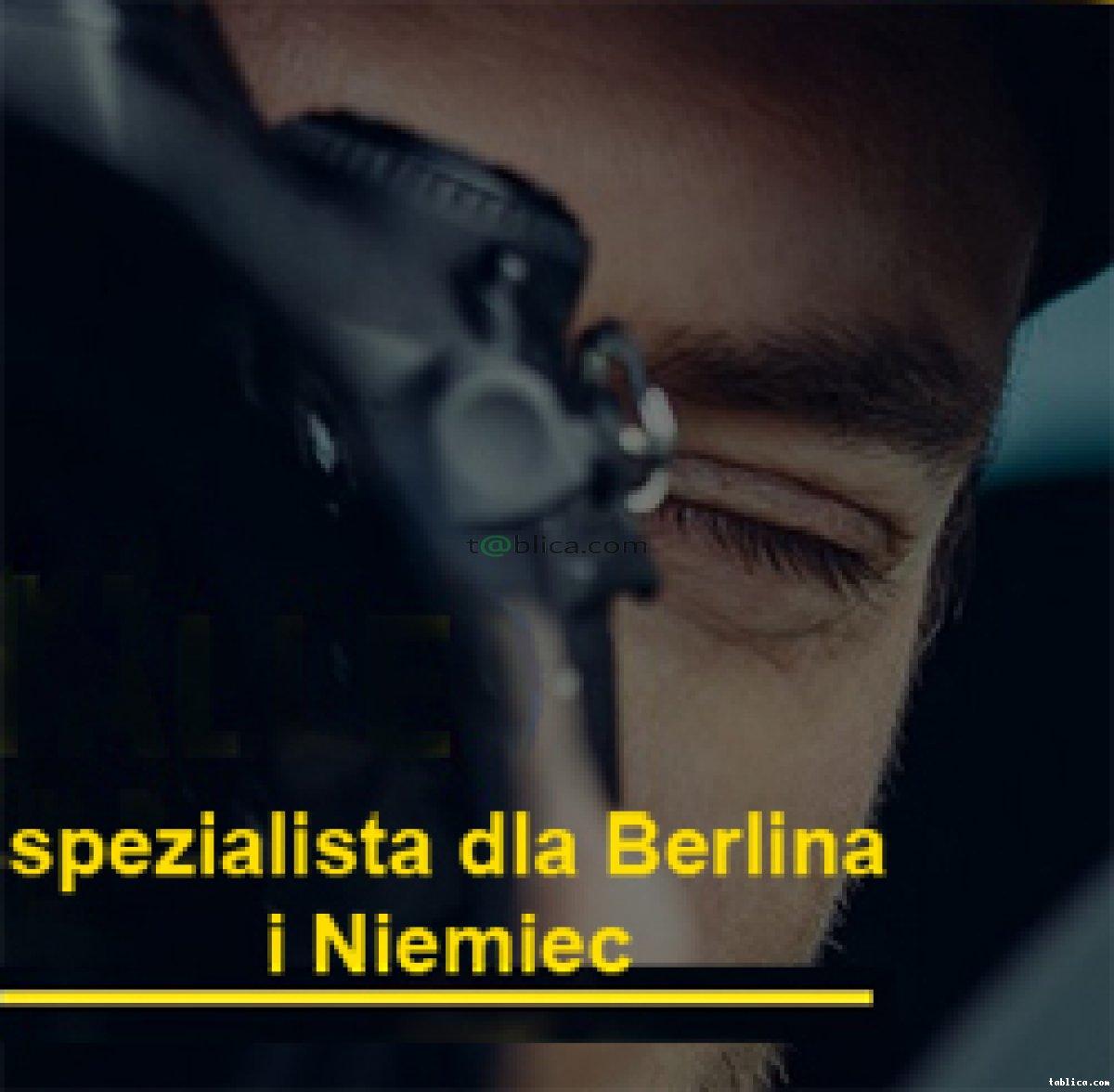 Detektyw w Berlinie i na terenie Niemiec