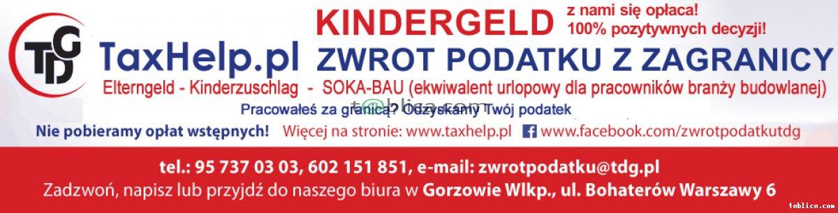 Taxhelp zwrot niemieckiego podatku, Kinderzuschlag