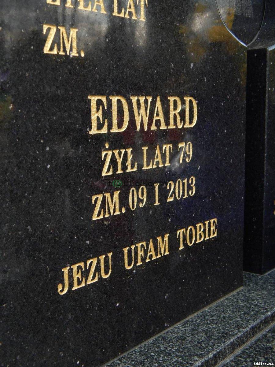 Dokuwanie i malowanie liter na cmentarzach i inne