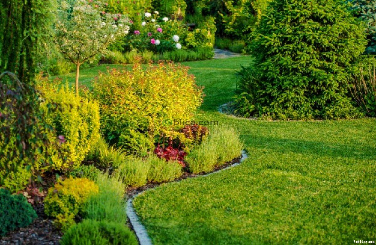 Projektowanie (wizualizacja) i wykonywanie ogrodów