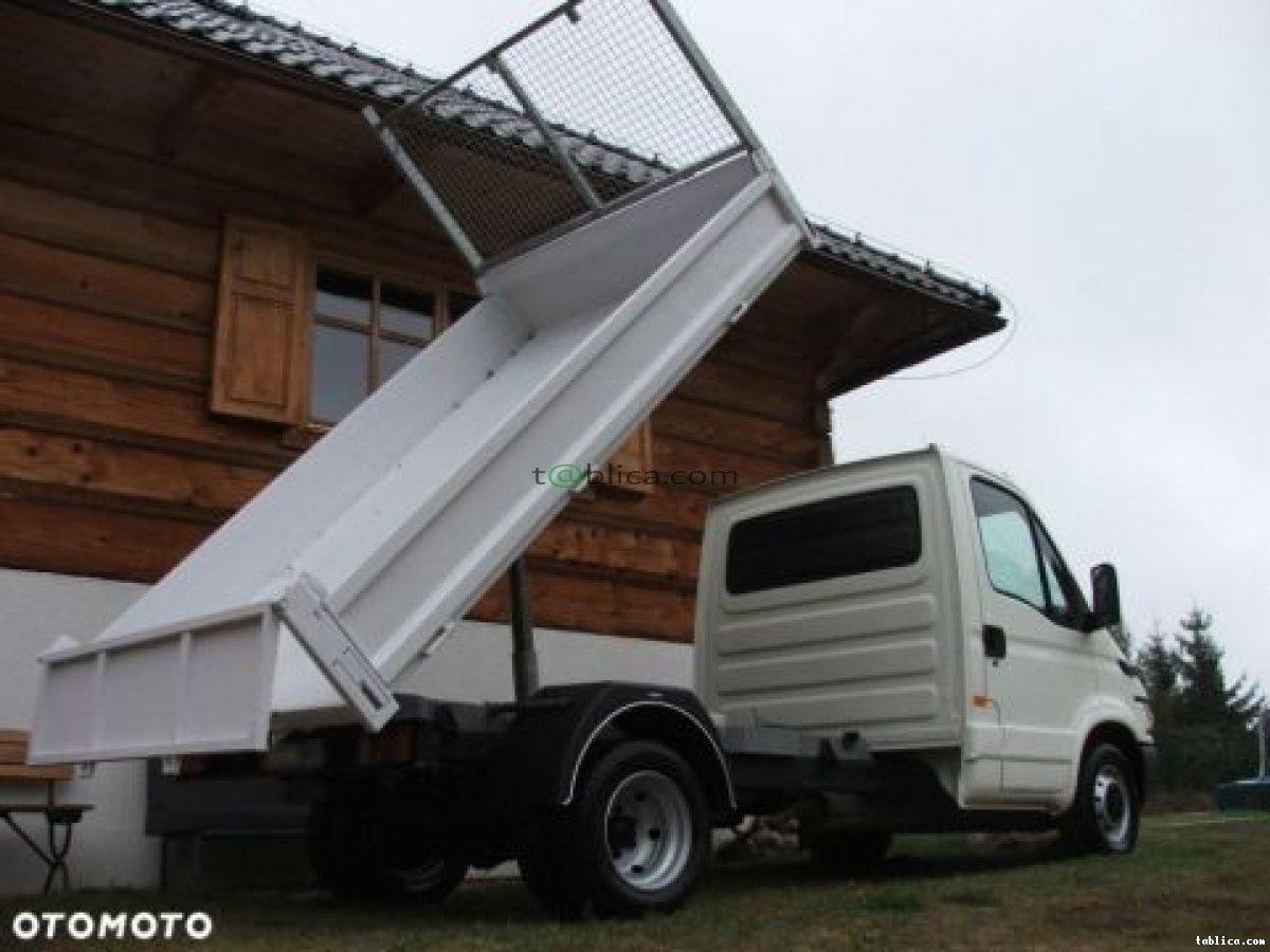 Transport Kraków - ziemi, betonu, piasku, kruszyw itp...