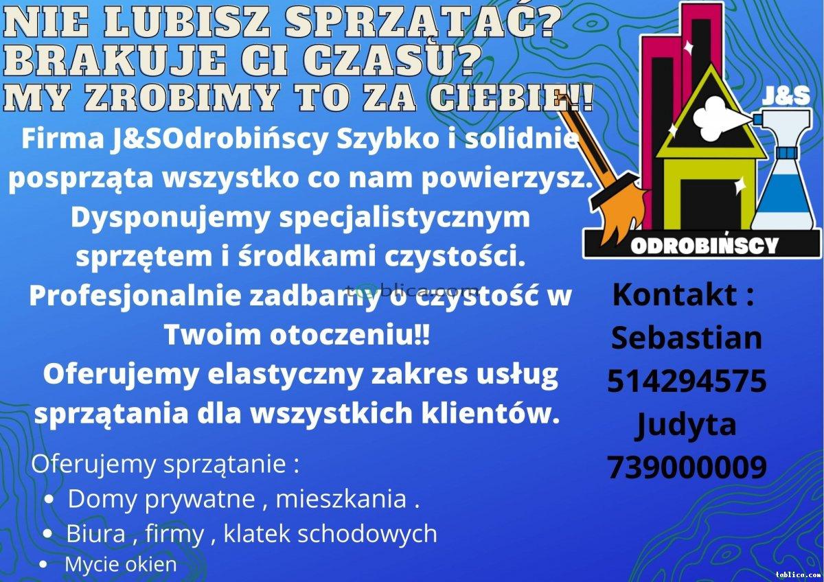 Firma Sprzątająca J and S Odrobińscy