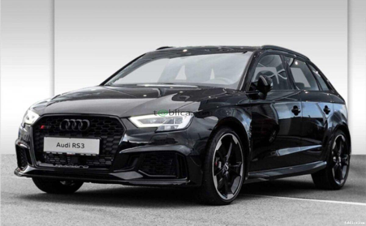Wypożyczalnia aut sportowych Audi RS3 Mustang GT V8