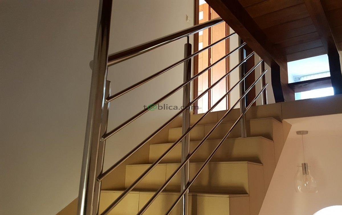 Balustrady nierdzewne, szklane, schody, konstrukcje