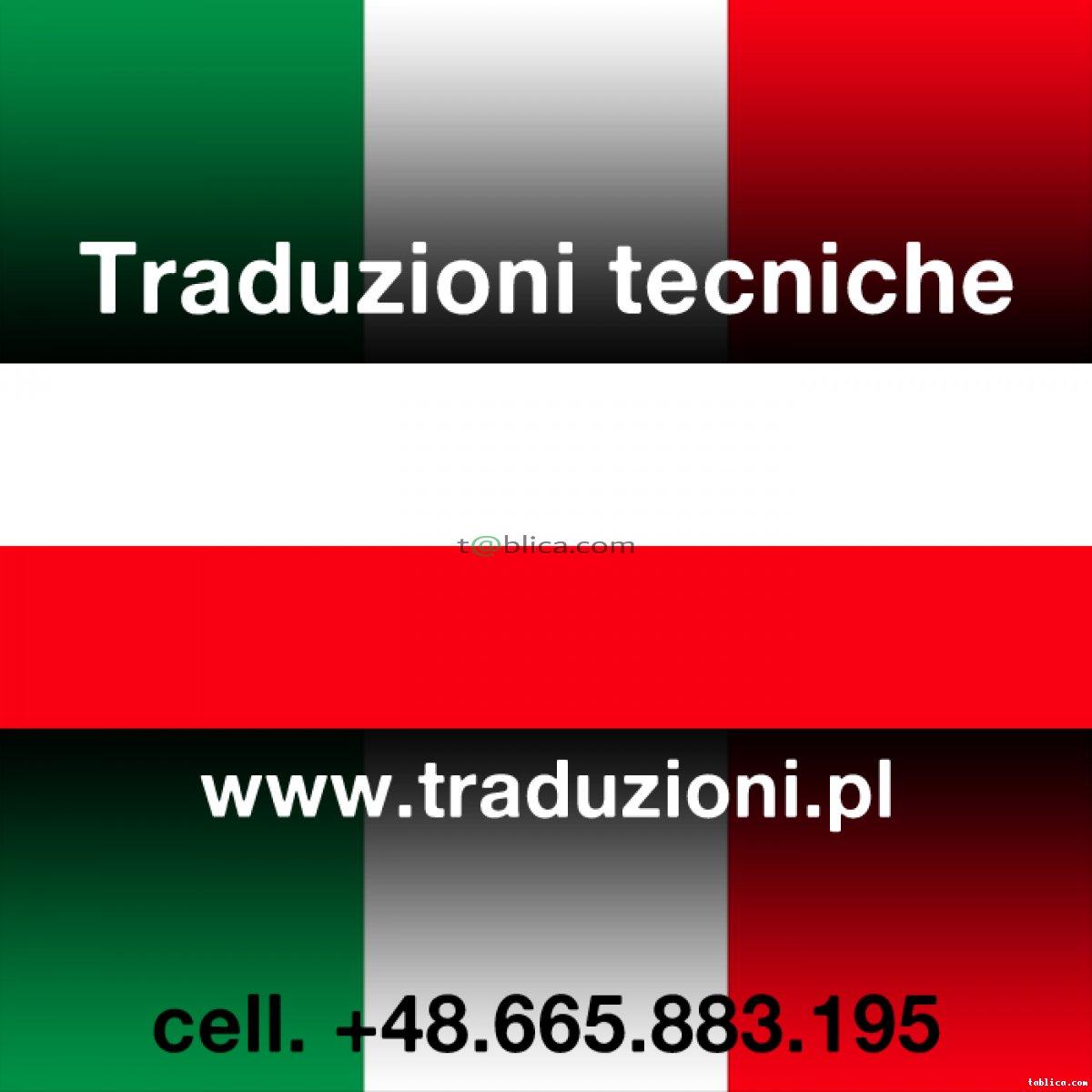 Włochy - pomoc w zamawianiu części zamiennych