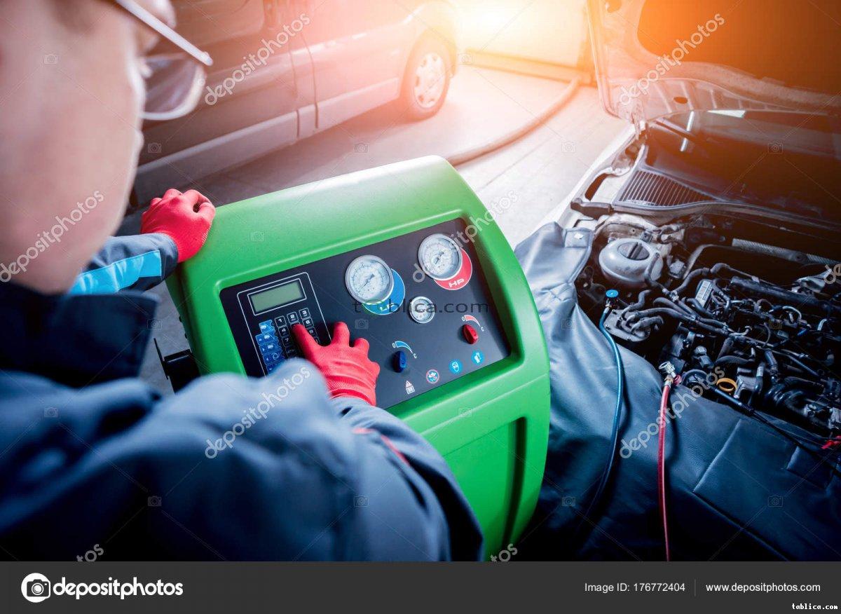 Klimatyzacje samochodowe- serwis, naprawa, napełnianie